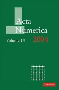Acta Numerica Acta Numerica 2004: Series Number 13