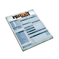 Mutant : år noll. Maskinarium - rollformulärsblock