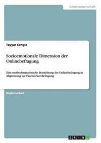 Sozioemotionale Dimension Der Onlinebefragung