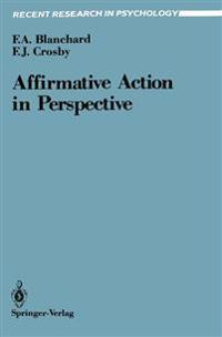 Affirmative Action in Perspective