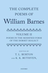 The Complete Poems of William Barnes