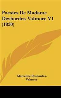 Poesies De Madame Desbordes-valmore