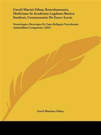 Caroli Marini Giltay, Roterdamensis, Medicinae in Academia Lugduno-batava Studiosi, Commentatio De Esoce Lucio