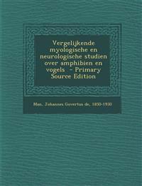 Vergelijkende myologische en neurologische studien over amphibien en vogels
