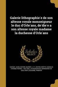 FRE-GALERIE LITHOGRAPHIE E DE