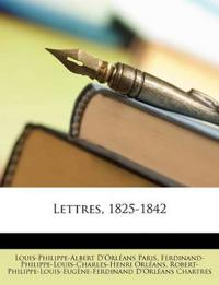Lettres, 1825-1842
