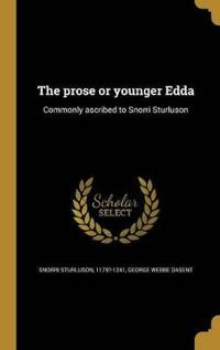 SWE-THE PROSE OR YOUNGER EDDA