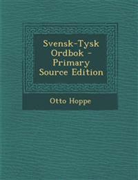Svensk-Tysk Ordbok