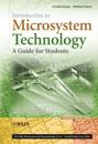 Introduction to Microsystem Technology: A Guide for Students