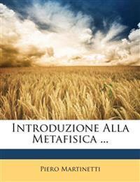 Introduzione Alla Metafisica ...