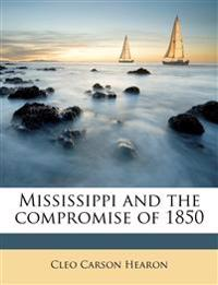 Mississippi and the compromise of 1850