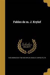 FRE-FABLES DE M J KRYLOF