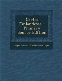 Cartas Finlandesas - Primary Source Edition