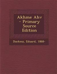 Akhme Ahv