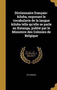 FRE-DICTIONNAIRE FRANCAIS-KILU
