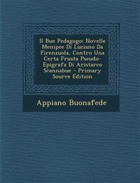 Il Bue Pedagogo: Novelle Menipee Di Luciano Da Firenzuola, Contro Una Certa Frusta Pseudo-Epigrafa Di Aristarco Scannabue - Primary Source Edition
