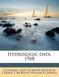 Hydrologic data, 1968
