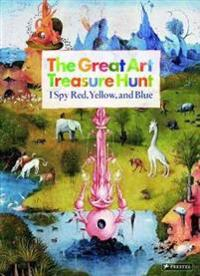 The Great Art Treasure Hunt: I Spy Red, Yellow, and Blue