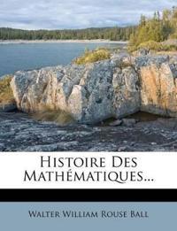 Histoire Des Mathématiques...