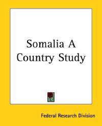 Somalia a Country Study