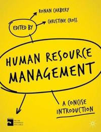 Human resource management - a concise introduction
