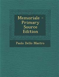 Memoriale - Primary Source Edition