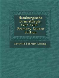 Hamburgische Dramaturgie, 1767-1769 - Primary Source Edition