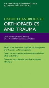 Oxford Handbook of Orthopaedics and Trauma