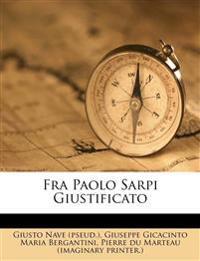 Fra Paolo Sarpi Giustificato