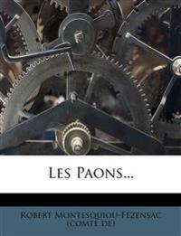 Les Paons...