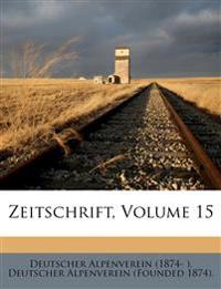 Zeitschrift, Volume 15
