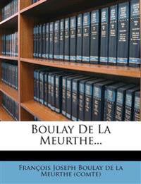 Boulay De La Meurthe...
