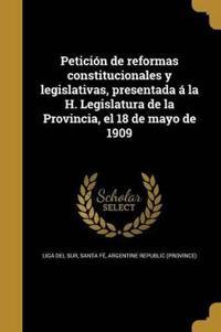 SPA-PETICION DE REFORMAS CONST