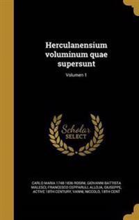 LAT-HERCULANENSIUM VOLUMINUM Q