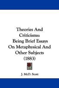 Theories and Criticisms