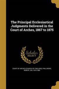 PRINCIPAL ECCLESIASTICAL JUDGM