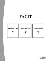 Veckans ord Facit till bok 1-3