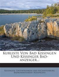 Kurliste Von Bad Kissingen Und Kissinger Bad-anzeiger...
