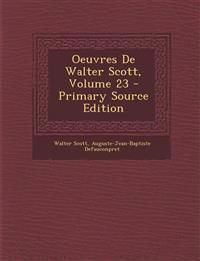 Oeuvres De Walter Scott, Volume 23