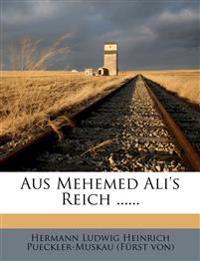 Aus Mehemed Ali's Reich ......