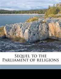 Sequel to the Parliament of religions