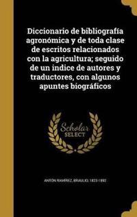 SPA-DICCIONARIO DE BIBLIOGRAFI