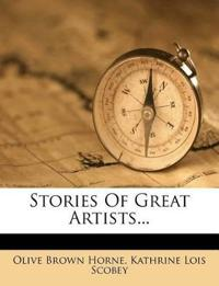 Stories Of Great Artists...