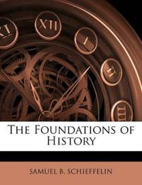 The Foundations of History