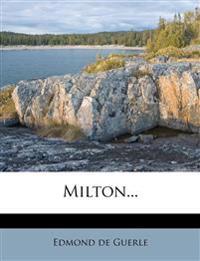 Milton...