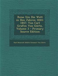 Reise Um Die Welt in Den Jahren 1844-1847: Von Carl Grafen Von Gortz, Volume 3 - Primary Source Edition