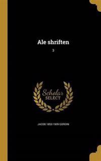 YID-ALE SHRIFTEN 3
