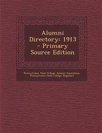 Alumni Directory: 1913