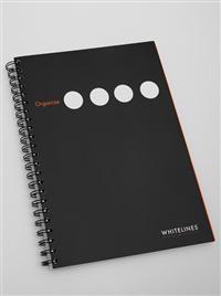 Whitelines Organize A5 LLS Black