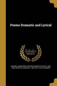 POEMS DRAMATIC & LYRICAL
